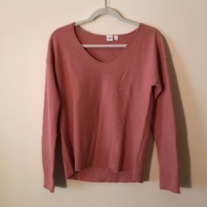 NWOT PInk Cotton sweater